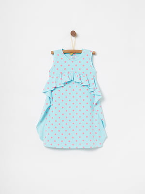 Платье голубое | 5075146