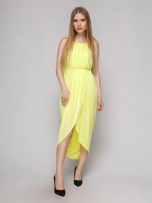 Платье лимонного цвета | 5026067