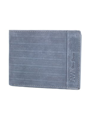 Бумажник серо-синий | 5071294