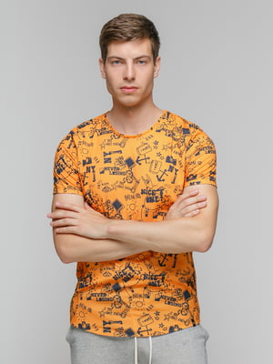 Футболка помаранчева | 5077309