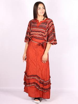 Костюм; блуза и юбка | 5089746