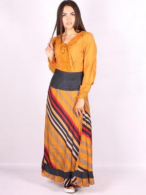 Платье в полоску | 5089751