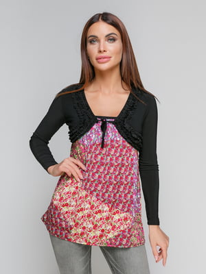 Туника с цветочным принтом | 5026081