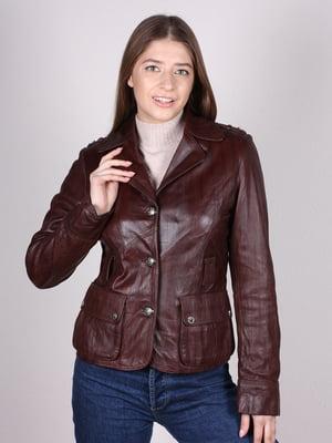 Куртка коричневая   5090618