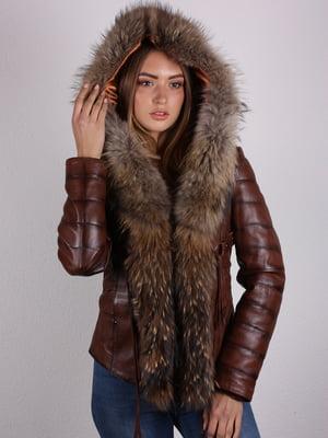 Куртка коричневая   5090622