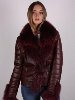 Куртка бордовая   5090669