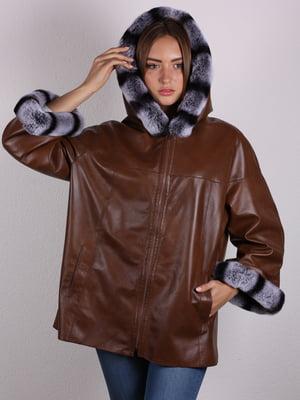 Куртка коричневая   5090677