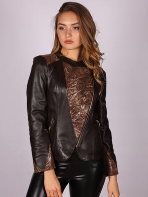 Куртка коричневая   5090704