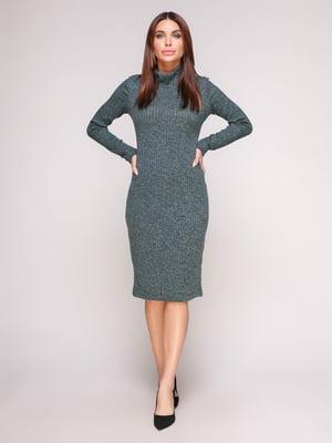 Платье-гольф изумрудного цвета | 4601149