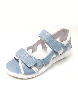 Сандалии голубые | 5091259