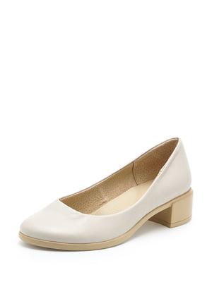Туфлі бежеві | 5048611