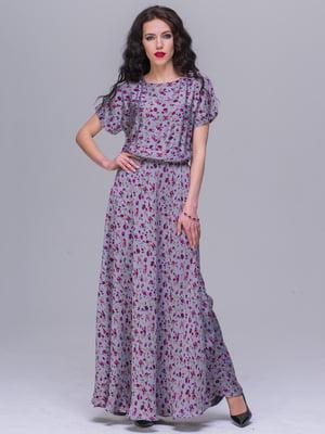 Платье в цветочный принт | 5091271
