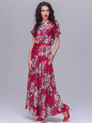 Платье в цветочный принт | 5091272