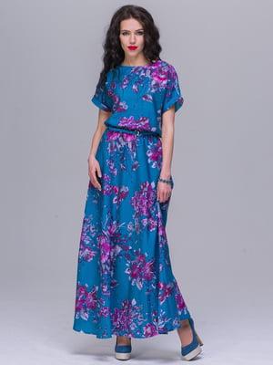 Платье в цветочный принт | 5091273