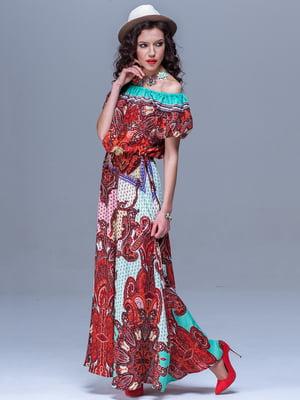 Платье в принт   5091274