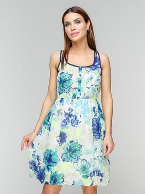 Платье в цветочный принт | 5086030