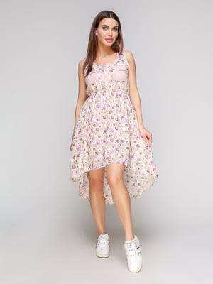 Платье в цветочный принт | 5086032