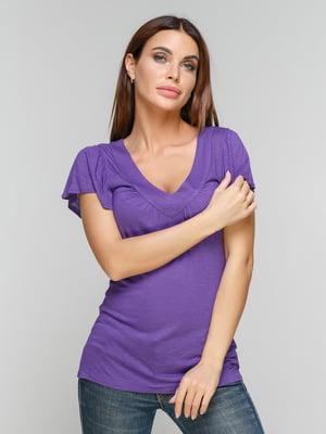 Блуза фиолетовая | 5086015