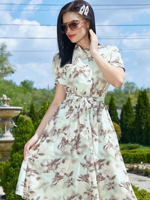 Платье в цветочный принт | 5091637