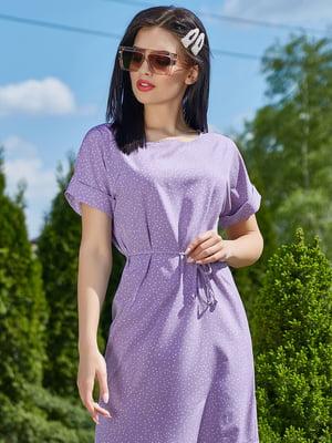Платье сиреневое | 5091649