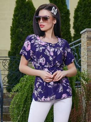 Блуза в цветочный принт | 5091654