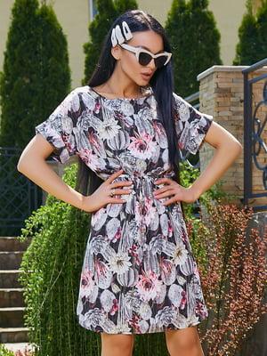 Платье в цветочный принт | 5091657