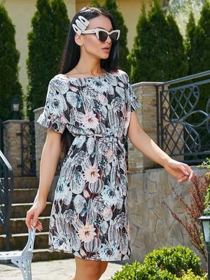 Платье в цветочный принт | 5091659