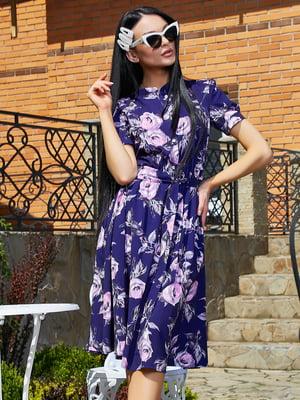 Платье в цветочный принт | 5091664