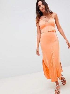 Сарафан оранжевый | 5091671