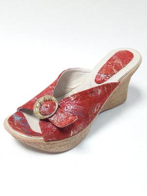 Шлепанцы красные | 5092011