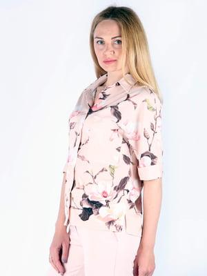 Рубашка в цветочный принт | 5092030