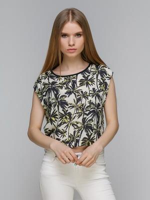 Блуза в принт | 4652810