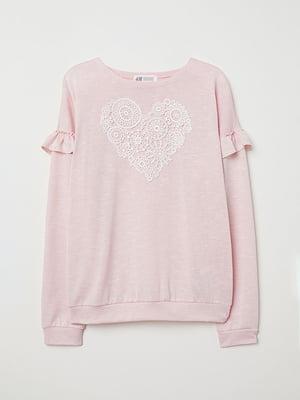 Джемпер розовый | 5072664