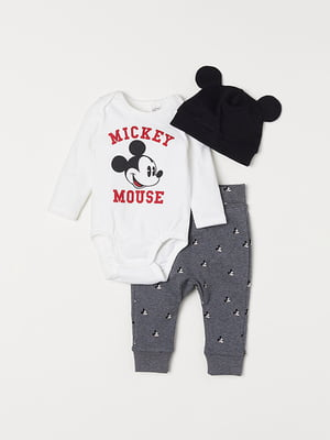 Комплект: боді, штани та шапка | 5073383