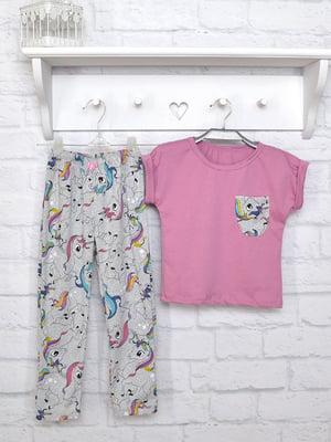Комплект: футболка та штани | 5092321