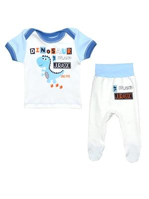Комплект: футболка і повзунки | 5092330