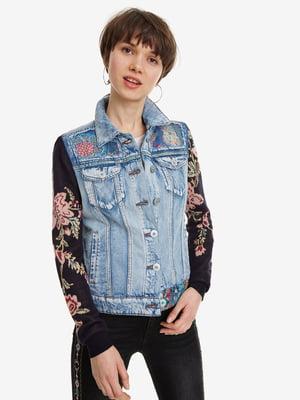 Куртка двоколірна | 5067256