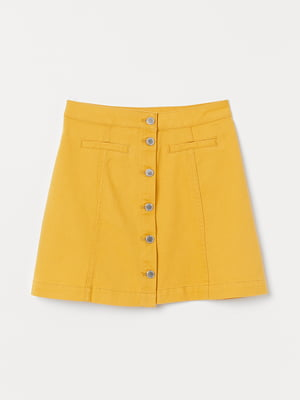 Юбка желтая | 5072752