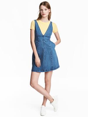 Сарафан синий джинсовый   5073018