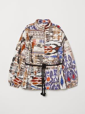 Куртка в принт | 5073236