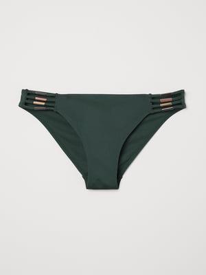 Труси темно-зелені купальні | 5089649