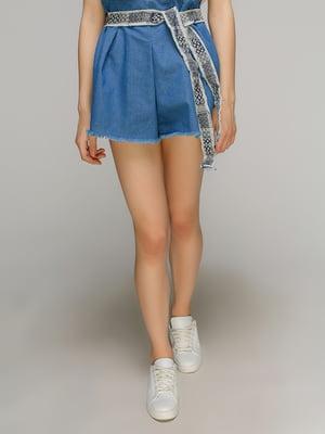 Шорты голубые джинсовые | 4508488