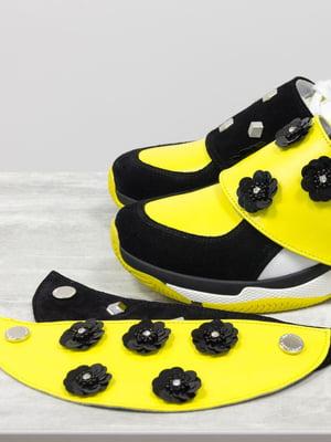 Туфлі жовто-чорні   5092997