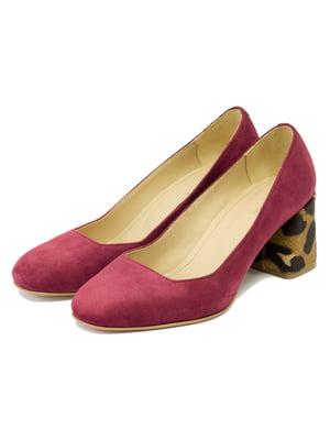 Туфлі бордові   5092998