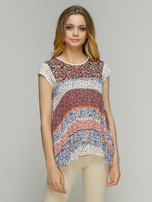 Блуза в цветочный принт | 4652811