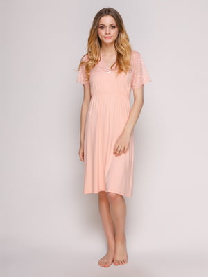 Сорочка нічна персикового кольору - Fleri - 4712355