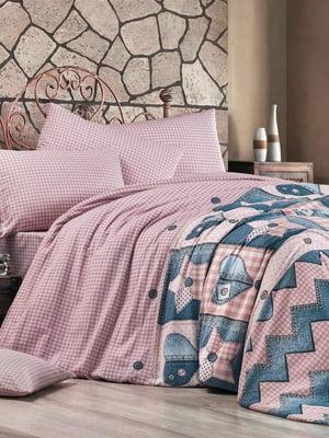 Комплект постельного белья двуспальный (евро) | 5094233