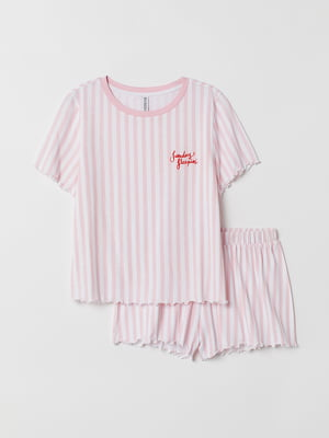 Пижама: футболка и шорты | 5093805