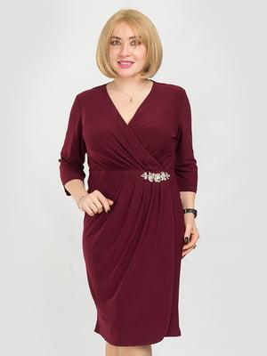 Сукня бордова | 5095509