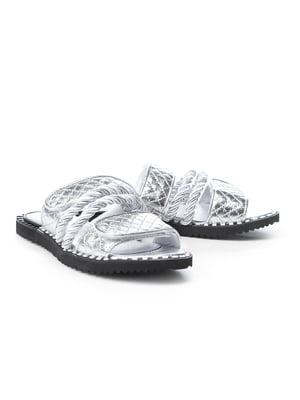 Шльопанці сріблясті | 5089831